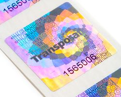 Transposafe Hologram Label