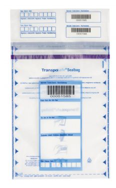 Transposafe Sealbag® groot transparant